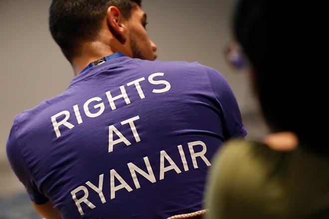 Ryanair cabin personnel meeting