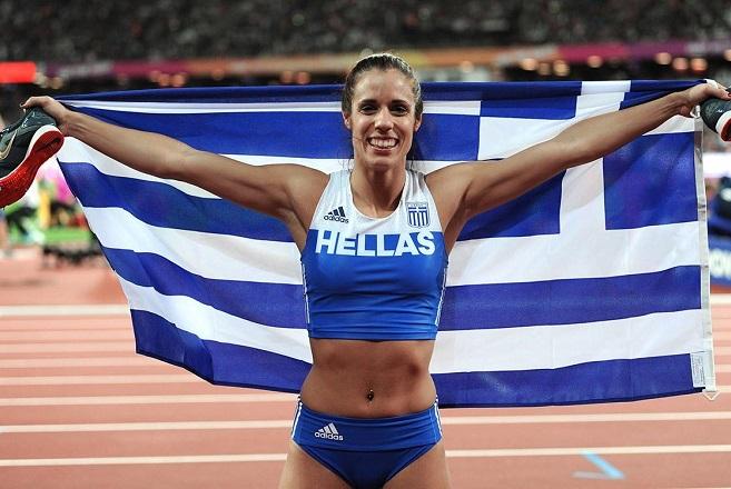 Κορυφαία αθλήτρια της χρονιάς η Κατερίνα Στεφανίδη