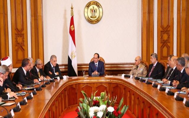 Ορκίστηκε η νέα κυβέρνηση της Αιγύπτου
