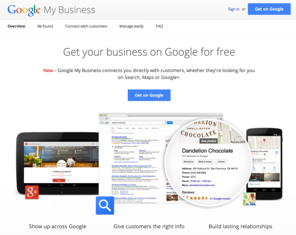 Google My Business: Νέος αέρας επικοινωνίας