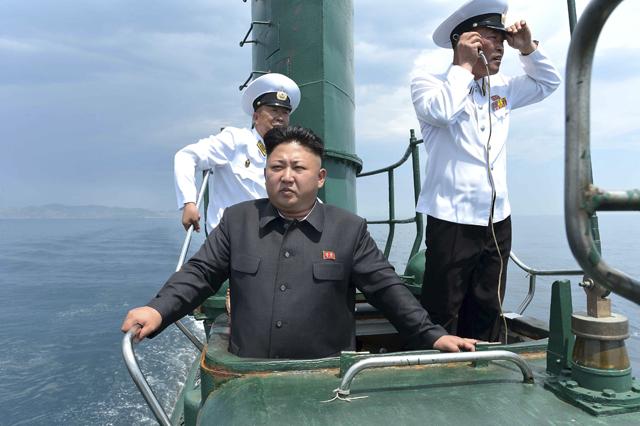 «Κατακτητής» των θαλασσών ο Κιμ Γιονγκ Ουν