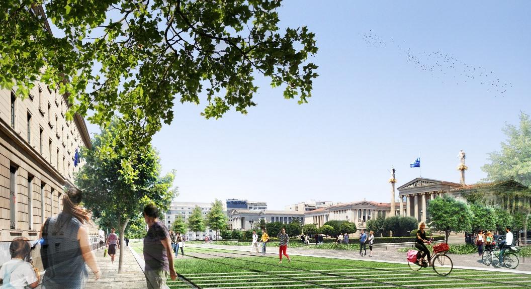 Rethink Athens Πανεπιστημίου.