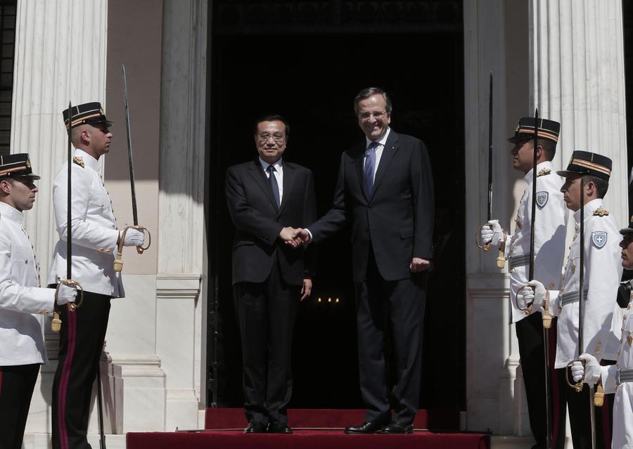 Σαμαράς: Πύλη της Κίνας στην Ευρώπη η Ελλάδα