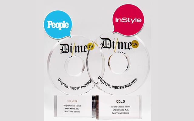 Κορυφαίες διακρίσεις για τα tablet edition των InStyle και People
