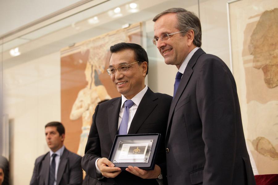 Σαμαράς: Ενδιαφέρον των Κινέζων επιχειρηματιών για το Καστέλι