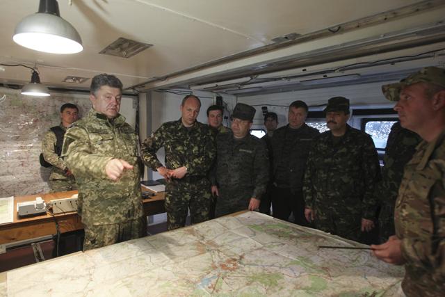 Πόλεμος νεύρων στην Ουκρανία