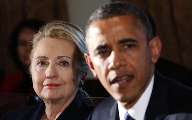 «Βεντέτα» μεταξύ Κλίντον και Ομπάμα