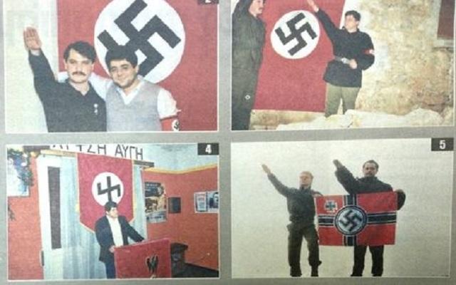 Ντοκουμέντα: Μιχαλολιάκος-Παππάς με τη σβάστικα και το σήμα των SS