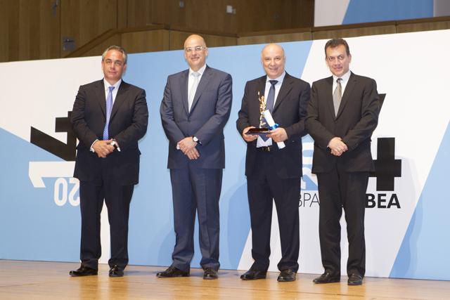 Βραβείο αυτοδημιούργητου επιχειρηματία για τον Κ. Ευριπίδη