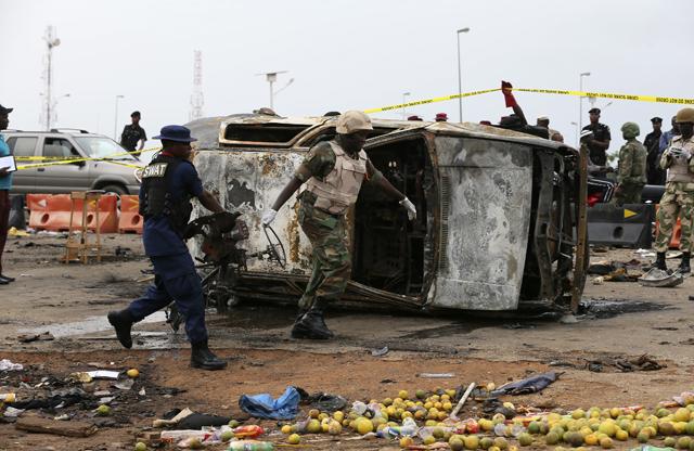 Πολύνεκρη έκρηξη σε εμπορικό κέντρο στην πρωτεύουσα της Νιγηρίας