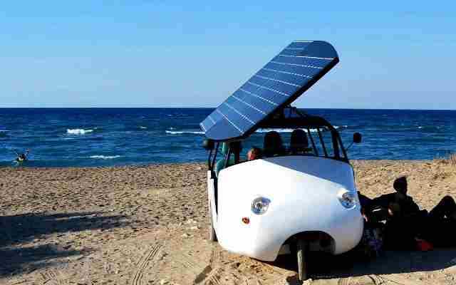 Το πρώτο ηλιακό όχημα made in Crete