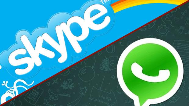 «Ματώνουν» οικονομικά οι πάροχοι από Skype – WhatsApp