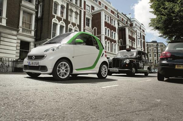 Νέο κεφάλαιο στα ηλεκτροκίνητα αυτοκίνητα από το smart fortwo electric drive