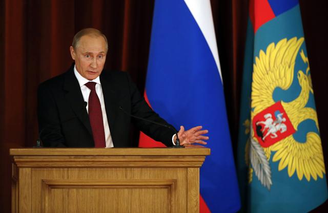 Ο Πούτιν ζητά κινητοποιήσεις για τη προάσπιση της χώρας