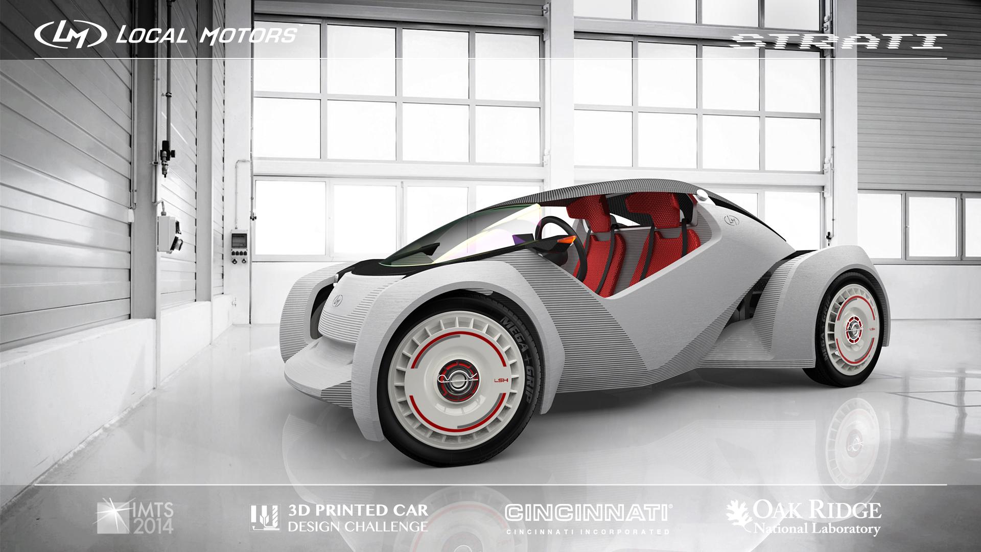Το Strati είναι το πρώτο πραγματικό 3D printed αυτοκίνητο