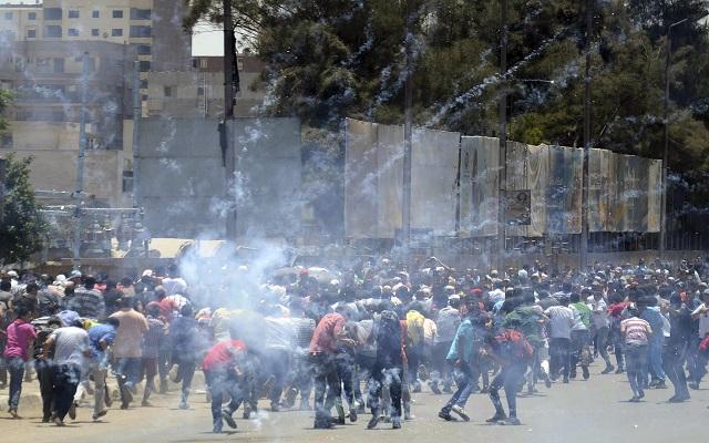 Συγκρούσεις στην Αίγυπτο στην επέτειο της ανατροπής του Μόρσι