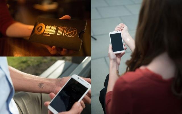 Το tattoo που ξεκλειδώνει το κινητό σας