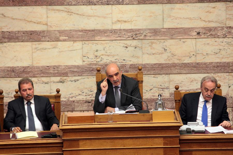 Σύγκλιση της Ολομέλειας της βουλής αν μαζευτούν 120 υπογραφές