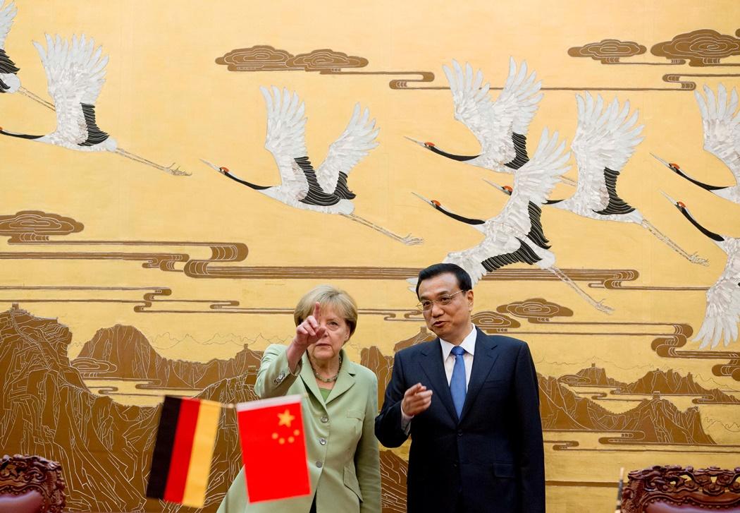 Συμφωνίες εκατ. δολαρίων υπογράφει η Μέρκελ στην Κίνα