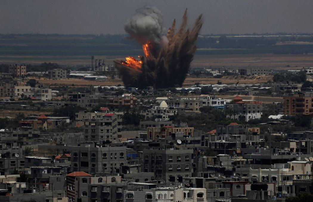 Ισραηλινή «καταιγίδα» σαρώνει τη μαρτυρική Γάζα