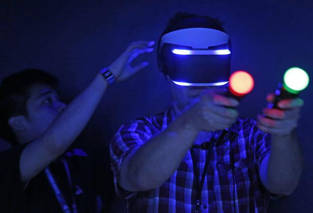 Η Sony ποντάρει στο Virtual Reality
