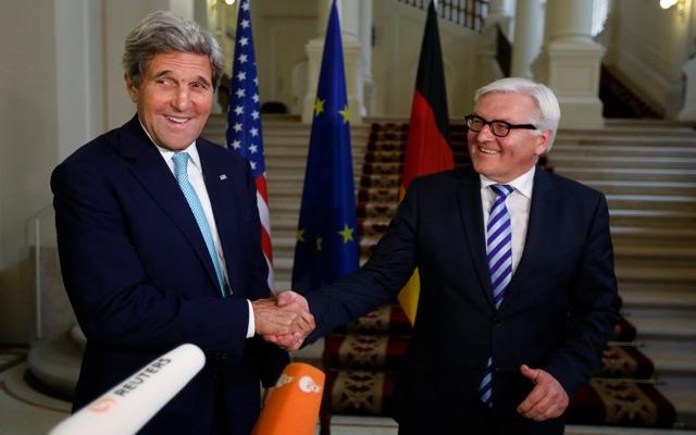 Τζον Κέρι: «Φίλοι από τα παλιά» ΗΠΑ και Γερμανία