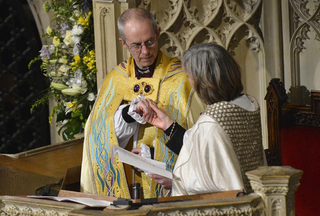 Γυναίκες επίσκοποι στην Αγγλικανική Εκκλησία