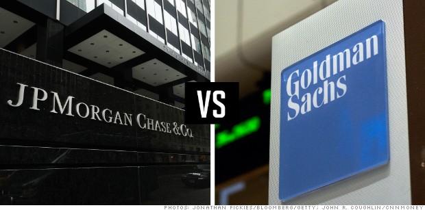 Κέρδη υπεράνω προσδοκιών για JP Morgan και Goldman Sachs