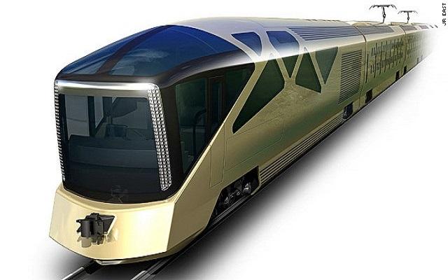 Ένα υπερπολυτελές τρένο με την υπογραφή του σχεδιαστή της Ferrari