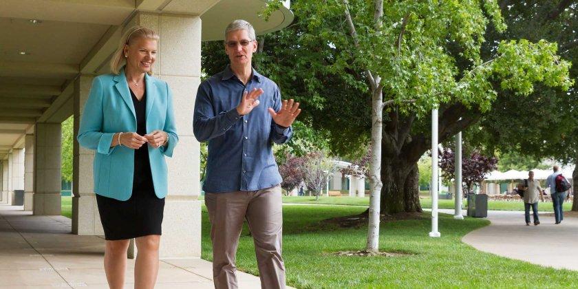 Apple και IBM ενώνουν τις δυνάμεις τους!