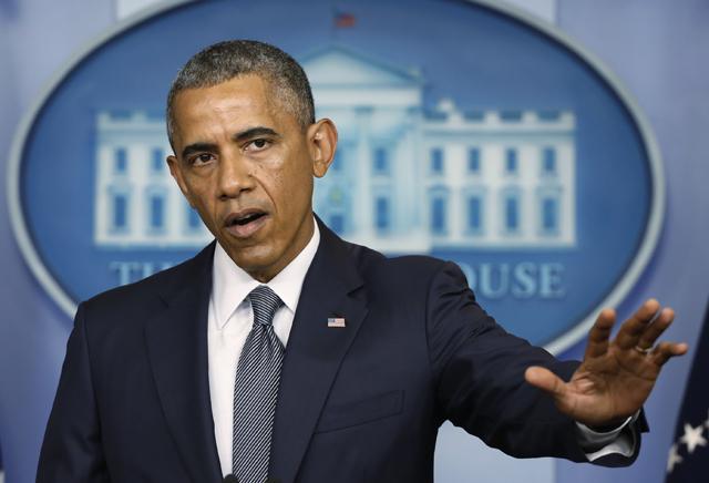 Βέβαιος ότι το αεροπλάνο κατερρίφθη δήλωσε ο Μπάρακ Ομπάμα
