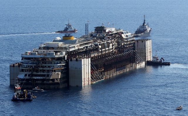 Βίντεο: Σήμερα το τελευταίο ταξίδι του Costa Concordia