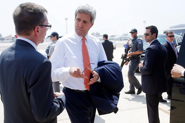 Στο Τελ Αβίβ ο Αμερικανός υπουργός Εξωτερικών Τζον Κέρι