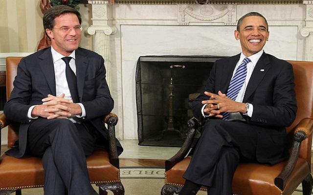 Ο Μπαράκ Ομπάμα και Μαρκ Ρούτε συζητούν για το μέλλον της Ρωσίας