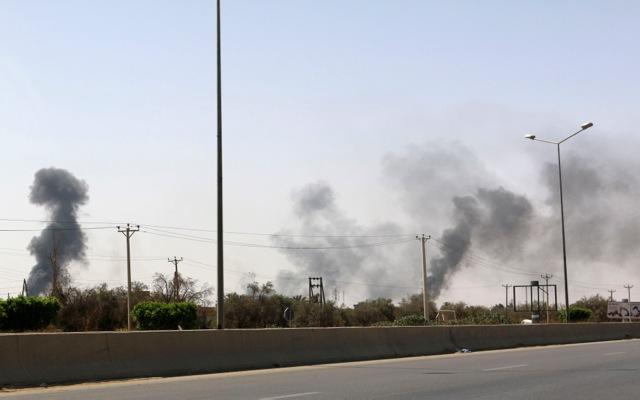 Εκκένωση της πρεσβείας των ΗΠΑ στην Τρίπολη της Λιβύης