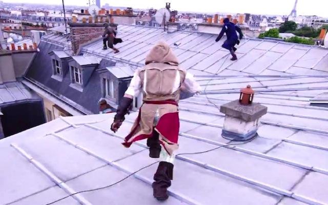 Βίντεο: Εντυπωσιακό παρκούρ για το «Assassin's Creed» στο Παρίσι