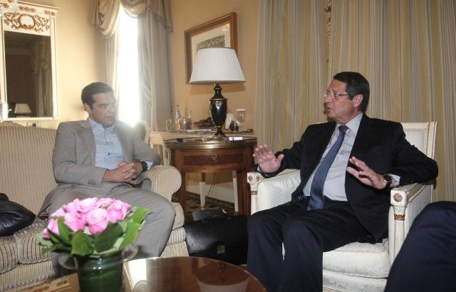 Τσίπρας: «Ελλάδα και Κύπρος πυλώνες σταθερότητας και ασφάλειας»
