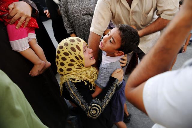 Τετράωρη ανθρωπιστική εκεχειρία στη Γάζα