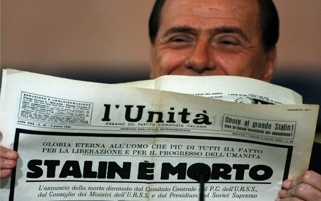 Τίτλοι τέλους για την ιταλική «L' Unita»