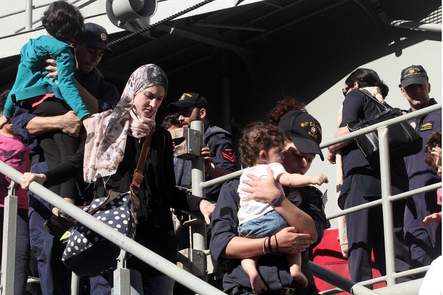 Επέστρεψε από τη Λιβύη η φρεγάτα «Σαλαμίς»