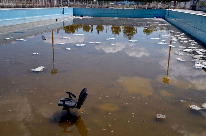 Bild: «Εδώ καταρρέει η ολυμπιακή ιστορία»