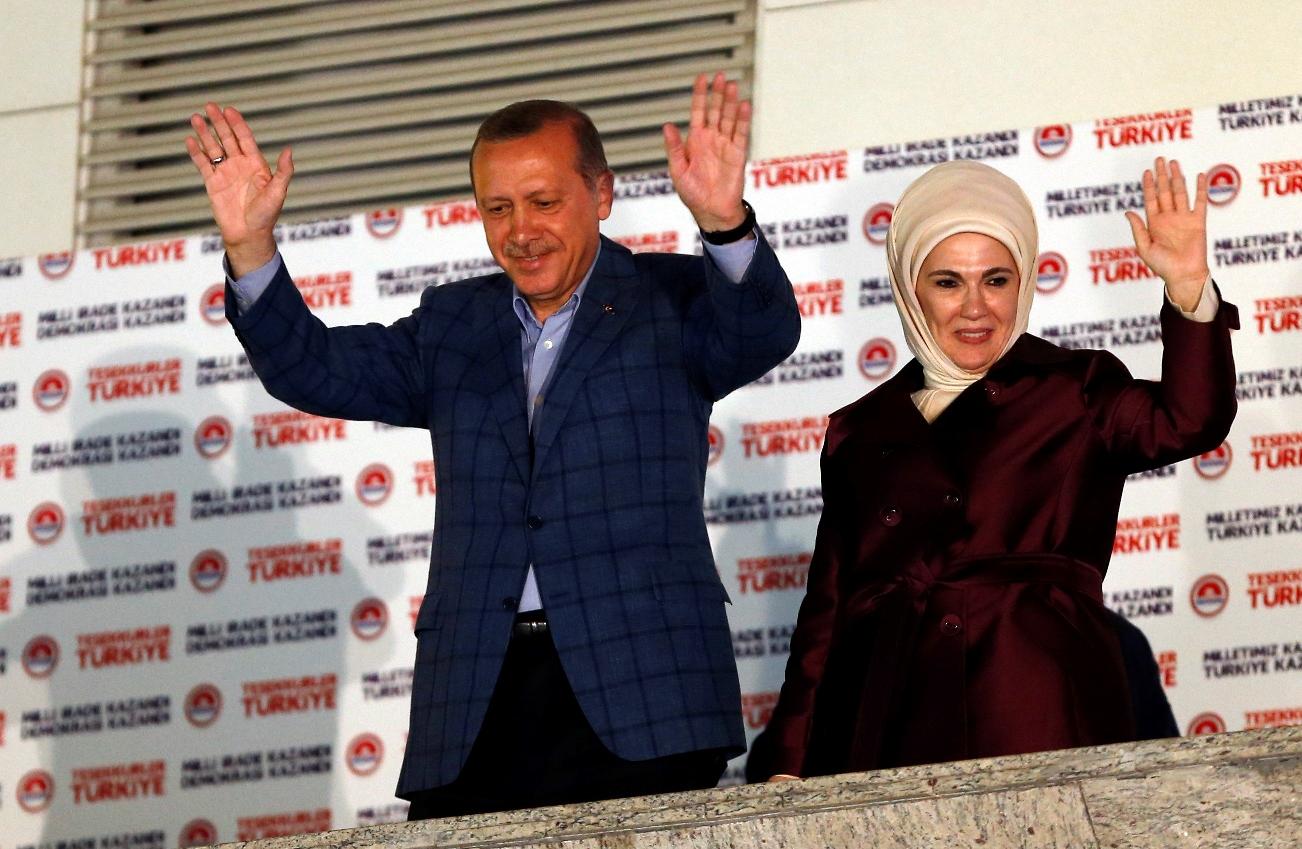 H εμφατική νίκη Ερντογάν πρώτο θέμα στα ξένα ΜΜΕ
