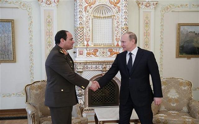 Ρωσία και Αίγυπτος «έδωσαν» τα χέρια για το ελεύθερο εμπόριο