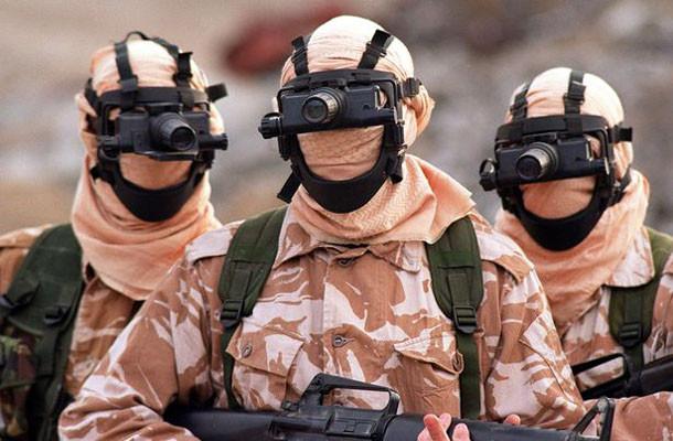 Ειδικές δυνάμεις του βρετανικού στρατού στο Ιράκ