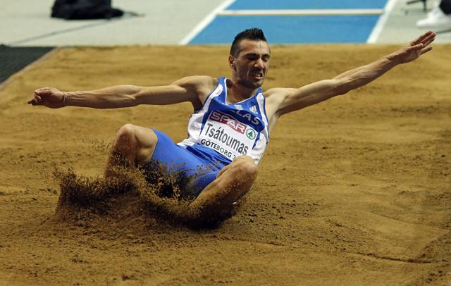 Ασημένιο μετάλλιο στο μήκος ανδρών ο Λούης Τσάτουμας