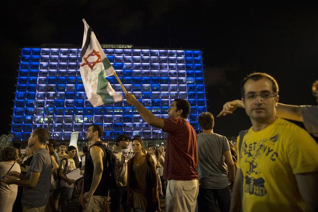 Χιλιάδες Ισραηλινοί διαδήλωσαν υπέρ της ειρήνης