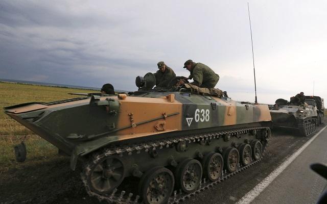 Ρωσικά τανκς κατέλαβαν οι Ουκρανοί