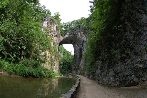 Φυσική γέφυρα, Βιρτζίνια