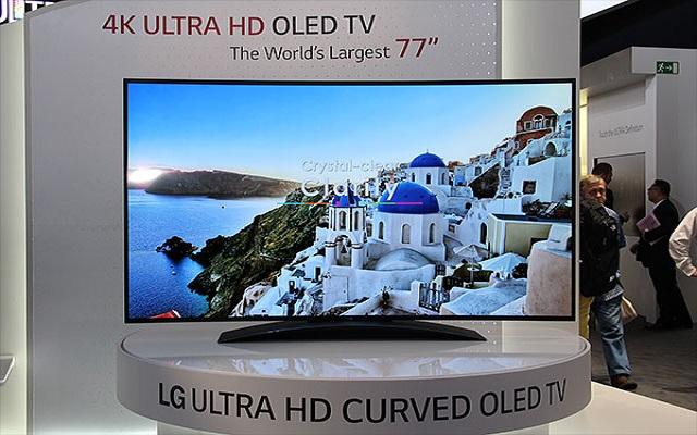 Η LG κυκλοφορεί τηλεόραση με ανάλυση 4K και οθόνη OLED