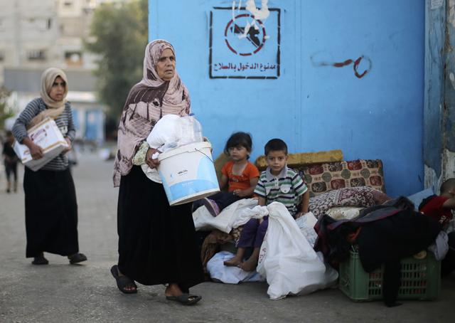 Στη Γάζα η πρώτη αποστολή επισιτιστικής βοήθειας